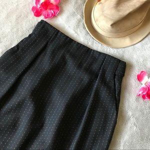 Vintage Colours by Alexander Juliann Wool Skirt